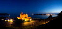 St Mawes Castle after sunset
